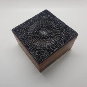 caja regalo de madera.10x10